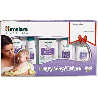 Himalaya Happy Baby Gift Pack ( 5 IN 1) (White)