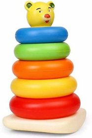 LOREO Rock-a-Stack Ring (Multicolor)