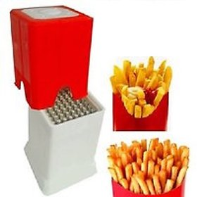 Plastic Choppers Dicers Finger Potato Chips French Fries Cutter ( Multicolor )