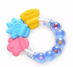 CHILD CHIC BABY RATTLE TEETHER IDEAL FOR BABY GUMS (BLUE)