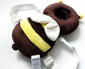 THE HOME STYLE Baby Head Protector for Crawling AND Protection Helmet with safety lock brown color