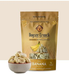 Dogsee Crunch Banana Freeze-Dried Banana Dog Treats (50 gm)