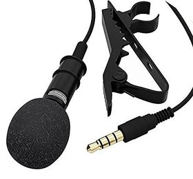 3.5 mm Clip Collar Mike for Voice Recording, Mobile, Pc, Laptop