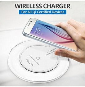 Crystal Digital Fantasy wireless charger for QI Standard Compatible Devices,Ultra-thin Charging Pad