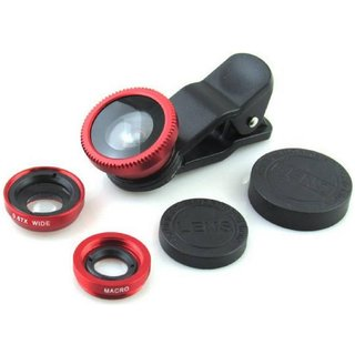UCL-004RB  High Defination Fish Eye Wide Angle Lens 3 In 1