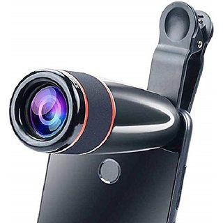 Crystal Digital 12X Zoom Telephoto Lens (Black)