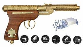 JGG BULLLET  GOLD AIR GUN FREE 200 PELLETS
