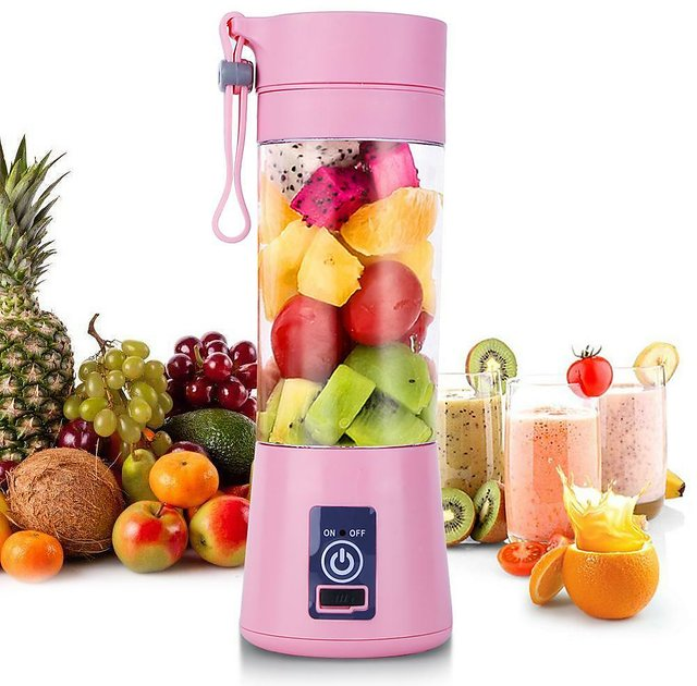 Buy Portable Electric Juicer Cup, Smoothie Blender USB Juice Mixing Bottle  Machine with Magnetic Safe Switch Online - Get 40% Off