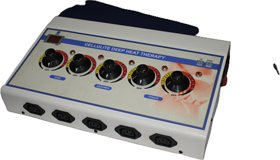 Deep heat five pads machine