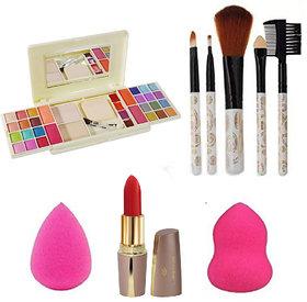 Adbeni Makeup Combo Kit With Brushes, GCI763