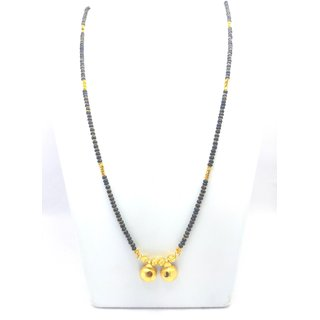 Soni Imitation Jewellery Gold Plated 24 inch Long mangalsutra for Women