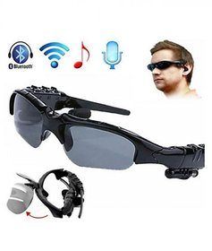 Outdoor BTSG Bluetooth Headphones Stereo Wireless Sport Riding Song Call Ear Buds Black