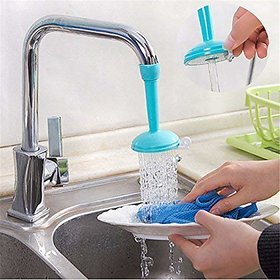 Evershine Kitchen Silicone Faucet Sprayer Regulator Tap For Water-Saving Abs Multi-Color