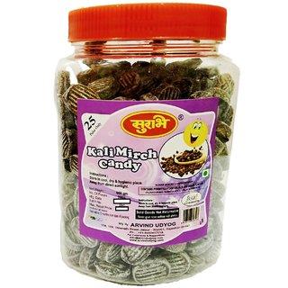 Surbhi Chatpati kali Mirch candy ( wahi bachpan ka swad ) 600g  ( pack of 2 )