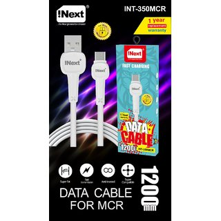 Inext Charging Cable for Samsung, Oppo  ViVo - Micro USB
