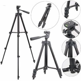 Crystal Digital 3120 Tripod Stand for Camera Smartphone YouTube Video Shooting