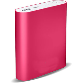 Raptech RT-110 Power 20000mAh Lithium-ion Power Bank/Fast Charging Power Bank 1 Output Power Bank (Pink)