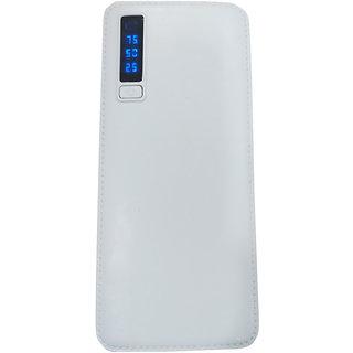 Raptech RT-132 Power 25000mAh Lithium-ion Power Bank/Fast Charging Power Bank 3 Output Power Bank (White-Green)
