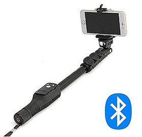 Crystal Digital YT-1288 Bluetooth Selfie Stick with Remote