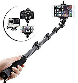 YT-1288-A Bluetooth Selfie MonoPod Stick Without Aux Cable for DSLR/SLR Action Camera Smart Phones BY Indo Digital