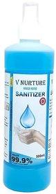 V Nurture Hand sanitizer  500 ml (SPRAY)