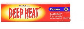 Deep Heat Pain Relief Heat Therapy RUB 100g Cream  (100 g)