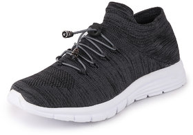 Fausto Men's Grey Sports Outdoor Lace-Up Running Shoes