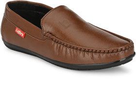 Lee Peteer Men's Brown Loafers