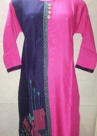 New fancy kurti embroidery
