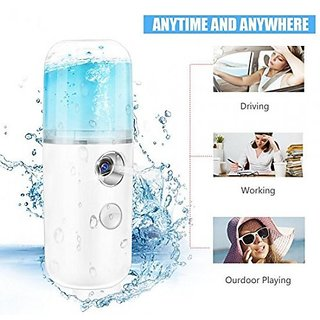 USB Handy Nano Mist Spray Atomization Mister Face Facial Moisturizing Mist Sprayer