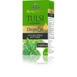 AMULYA TULSI DROPS 5X Pack Of 2 20ml