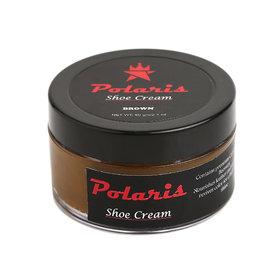 Polaris High Gloss Leather Shoe Cream (Dark Tan) 60gm