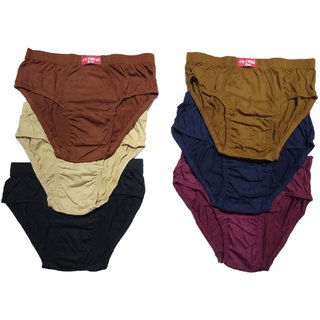 Men's Inner Wear Cotton Brief Gents Under wear for Boys(Multicolor,Pack of 2)