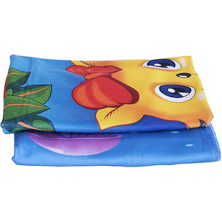 WarShop 100 Cotton Ultra soft Multicolor Large Baby Bath towel Super Absorbent Quick drying Cartoon Printed, (Multicolo