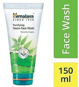 Himalaya Purifying Neem Face Wash 150 Ml Set Of 2