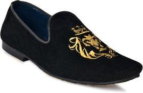 Shoeson Men's Black Loafer