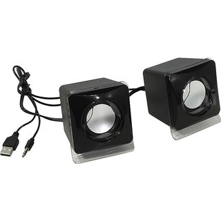 Mini USB 2.0 Speaker Compatible with PC, Laptop and Tablet (Black)
