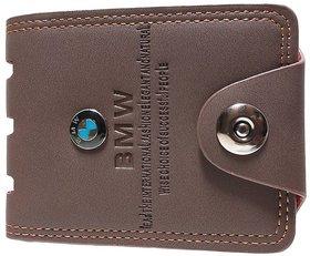BMW Brown Wallet For Men