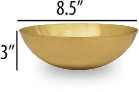 RK Handicraft 1Pcs Brass Fruit Bowl 1000 mL