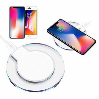 TSV Wireless Mobile Charger  High Speed Wireless Mobile Charging  Imported  Compatible with Qi Enabled Device