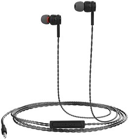 Portronics Conch Gama in-Ear Wired Earphone, 1.2m Tangle Free Cable, in-Line Mic, Noise Isolation 3.5mm Aux Port