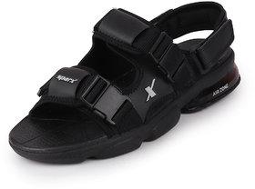 Sparx Men's Black Sports Outdoor Sandals & Floaters