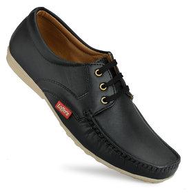 Gulass Wick Men's Black Casual Shoes