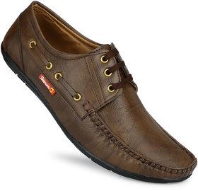 Gulass Wick Men's Brown Casual Shoes