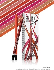 Me Now Super Matte Lip Liner Pencil (Set of 12)
