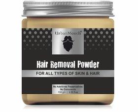 UrbanMooch Natural  Organic Hair Removal Powder for All Skin  Hair Types 100gm