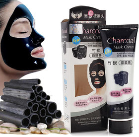 charcoal Bamboo Charcoal Oil Control Anti-Acne Deep Cleansing Blackhead Remover, Peel Off Mask