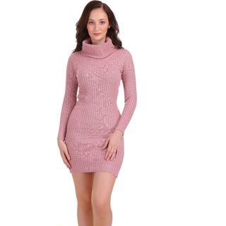 Shawl Collar Bodycon Dress