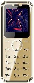 I KALL K12 Card Mobile 1.54 Inch Display Dual Sim Phone - Gold