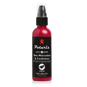 Polaris High Gloss Leather Shoe Moisturizer and Conditioner (Cherry)